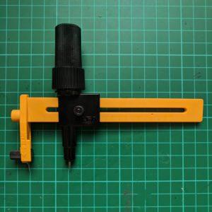 An Olfa compass cutter