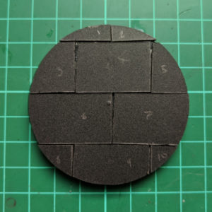 Tiny slabs on a base